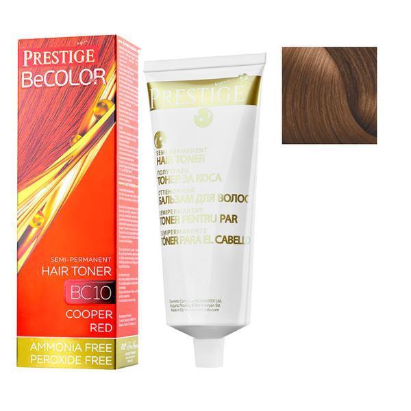 Vopsea de Par Semi-Permanenta Rosa Impex Prestige VIP's BeColor Hair Toner, nuanta BC03 Nobel Chestnut, 100ml imagine produs