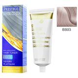Vopsea de Par Semi-Permanenta Rosa Impex Prestige VIP's BeBlonde Hair Toner, nuanta BB03 Icy Dawn, 100ml