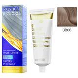 Vopsea de Par Semi-Permanenta Rosa Impex Prestige VIP's BeBlonde Hair Toner, nuanta BB06 Caffe Latte, 100ml