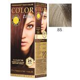 Vopsea Permanenta pentru Par Rosa Impex Color Time, nuanta 85 Cool Blonde