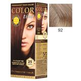 Vopsea Permanenta pentru Par Rosa Impex Color Time, nuanta 92 Pearl Blonde