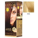 Vopsea Permanenta pentru Par Rosa Impex Color Time, nuanta 111 Intensive Lightener