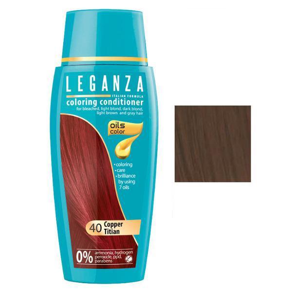 Balsam Nuantator Rosa Impex Leganza, nuanta 30 Light Brown, 150ml imagine produs