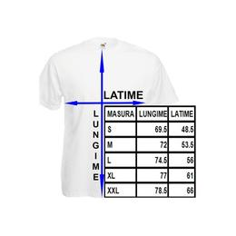 Tricou barbatesc personalizat, print spate TATA, marime L - Cadouri Optime