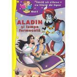 Aladin si lampa fermecata (invat sa citesc cu litere de tipar)