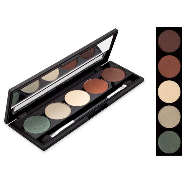 Fard Pleoape 5 Culori Alfar Silky Touch, 01 Earthy Tones, 12.5ml poza