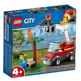 Lego City - stingerea incendiului de la gratar 5-12 ani (60212)