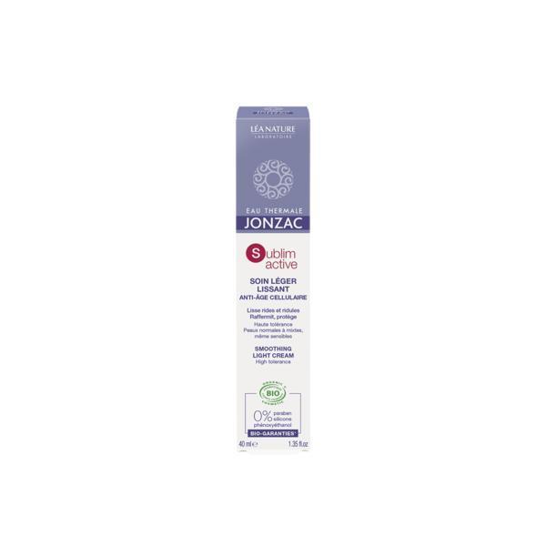 Crema antirid bio pentru ten normal-mixt Sublimactiv Jonzac, 40ml