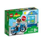 Lego Duplo - motocicleta de politie 2-5 ani (10900)