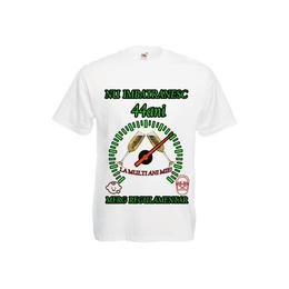 Tricou personalizat Fruit of the loom barbat nu imbatranesc 44 ani alb M