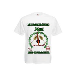 Tricou personalizat Fruit of the loom barbat nu imbatranesc 34 ani alb XXL