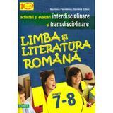 Romana cls 7-8 - Activitati si evaluari interdisciplinare si transdisciplinare - Marilena Pavelescu, editura Paralela 45