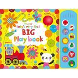 Carte pentru bebelusi - Baby's Very First Big Playbook Usborne