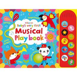 Carte pentru bebelusi - Baby's very first touchy-feely Musical play book Usborne