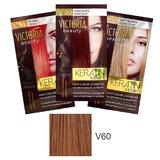 Sampon Nuantator cu Keratina Camco Victoria Beauty Keratin Therapy, nuanta V60 Dark Blonde, 40ml