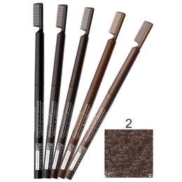 Creion Contur Sprancene Retractabil cu Perie Impala Brooklin, nuanta 2 Cedar de la esteto.ro