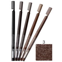 Creion Contur Sprancene Retractabil cu Perie Impala Brooklin, nuanta 3 Walnut de la esteto.ro