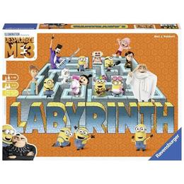 Joc labirint - despicable me 3 (ro) - Ravensburger