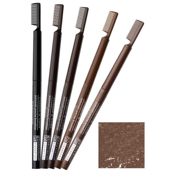 Creion Contur Sprancene Retractabil cu Perie Impala Brooklin, nuanta 4 Cinnamon imagine produs