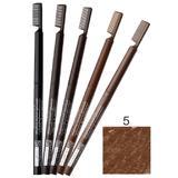Creion Contur Sprancene Retractabil cu Perie Impala Brooklin, nuanta 5 Sweet Nut