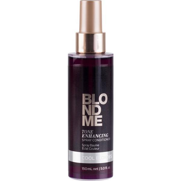 Balsam Spray pentru Par Blond Rece - Schwarzkopf Blond Me Tone Enhancing Spray Conditioner Cool Blondes, 150ml poza
