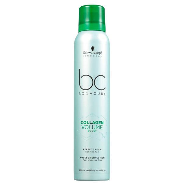 Spuma Volum pentru Par Fin - Schwarzkopf BC Bonacure Collagen Volume Boost Perfect Foam for Fine Hair, 200ml imagine produs