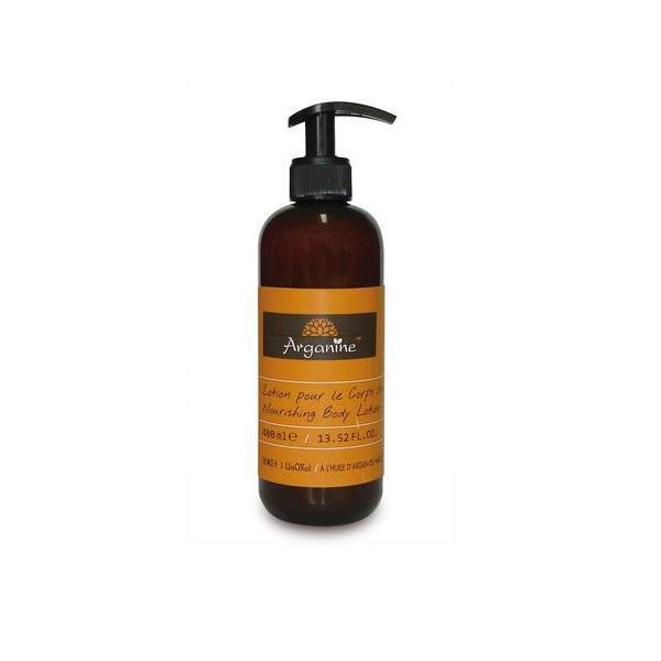 Lotiune de corp cu ulei de argan organic, fara parabeni, coloranti, Arganine 400 ml poza