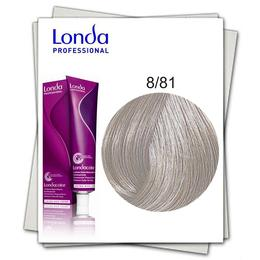 Vopsea Permanenta - Londa Professional nuanta 8/81 blond deschis albastrui cenusiu