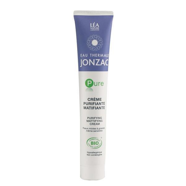 Crema bio purifianta matifianta pentru ten gras bio Jonzac Pure, 50ml