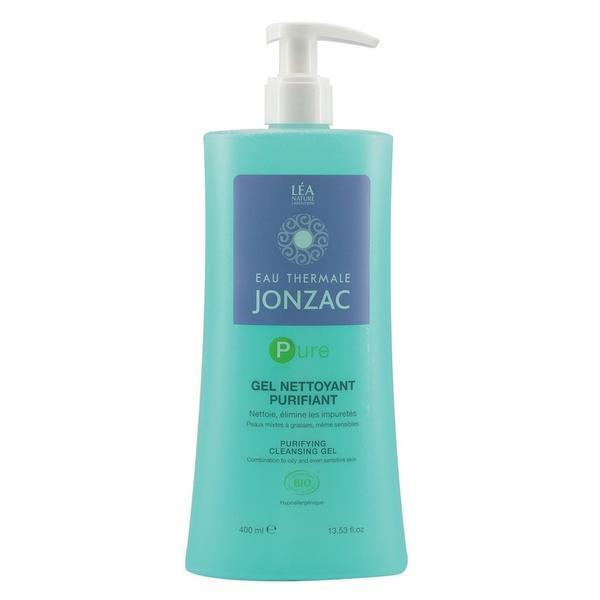 Gel curatare purifiant pentru ten gras bio Jonzac Pure, 400ml