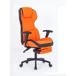Scaun directorial US77 Kronos portocaliu-negru - Unic Spot Ro