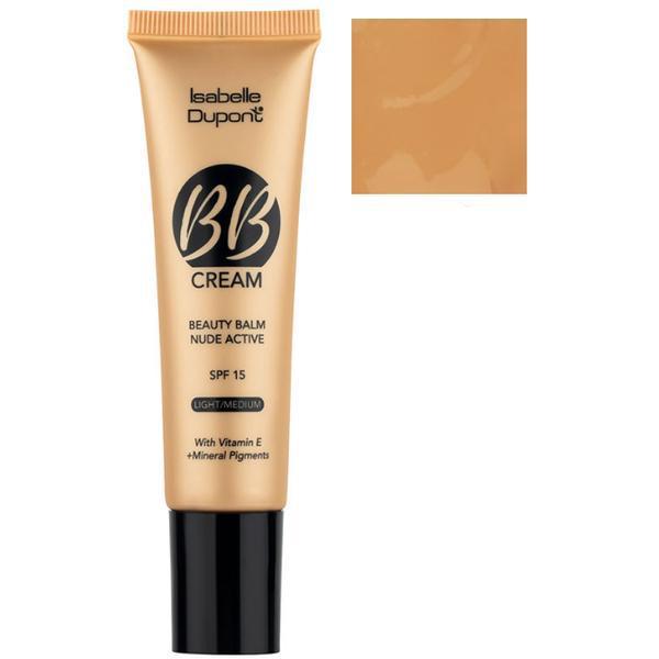 Balsam Corector Isabelle Dupont Paris BB Cream Nude Active, nuanta BB03 Hazelnut, 30ml imagine produs