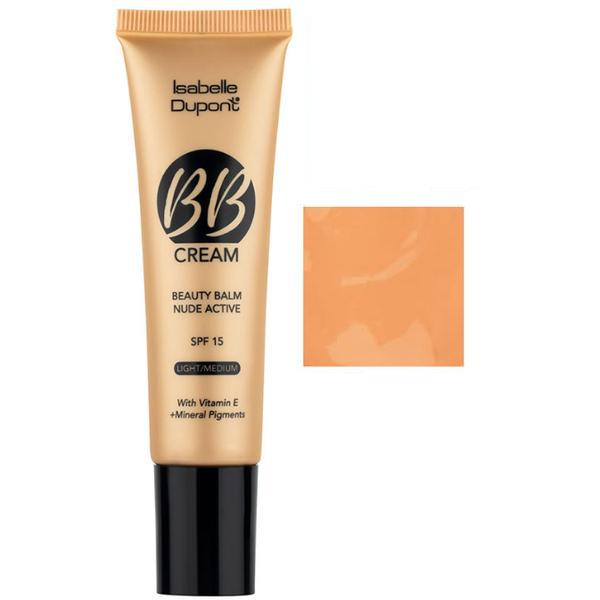 Balsam Corector Isabelle Dupont Paris BB Cream Nude Active, nuanta BB05 Ivory Beige, 30ml imagine produs