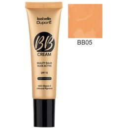 Balsam Corector Isabelle Dupont Paris BB Cream Nude Active, nuanta BB05 Ivory Beige, 30ml