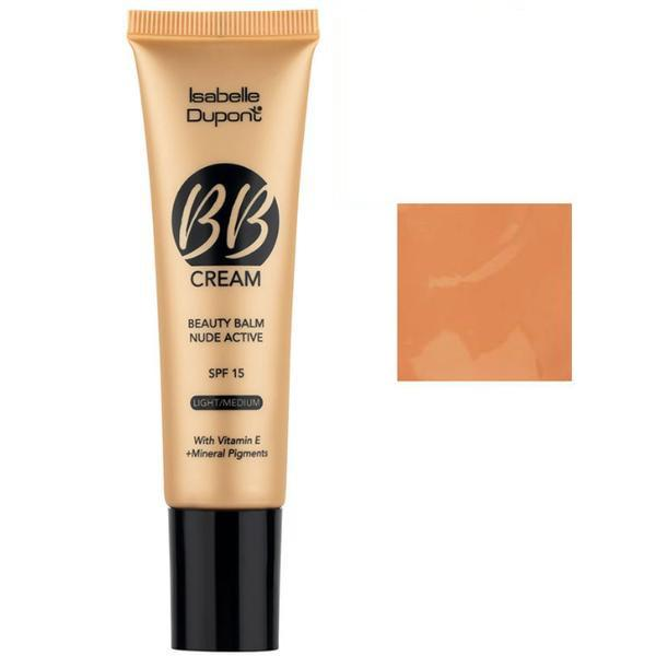 Balsam Corector Isabelle Dupont Paris BB Cream Nude Active, nuanta BB06 Tan, 30ml imagine produs