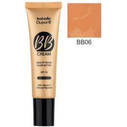 Balsam Corector Isabelle Dupont Paris BB Cream Nude Active, nuanta BB06 Tan, 30ml de la esteto.ro