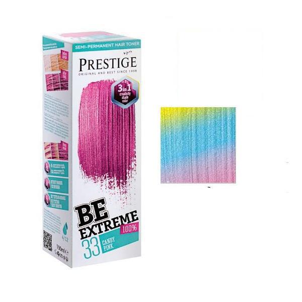 Vopsea de Par Semi-Permanenta Rosa Impex BeExtreme Prestige VIP's, nuanta BE00 Neutral Corector, 100 ml imagine produs