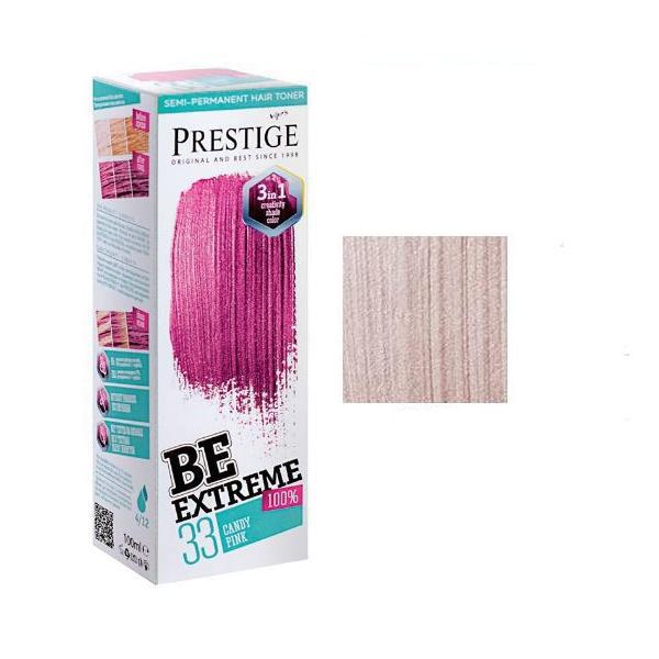 Vopsea de Par Semi-Permanenta Rosa Impex BeExtreme Prestige VIP's, nuanta BE20 Titan, 100 ml imagine produs