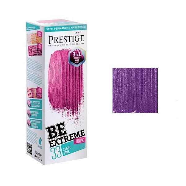 Vopsea de Par Semi-Permanenta Rosa Impex BeExtreme Prestige VIP's, nuanta BE44 Power Lilac, 100 ml imagine produs