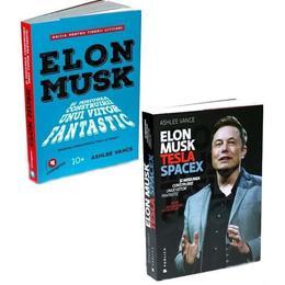 Pachet Elon Musk + Elon Musk pentru tinerii cititori - Ashlee Vance, editura Publica