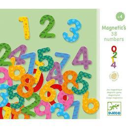 Cifre magnetice colorate pentru copii - Djeco