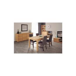 Bufet 4 usi STOCKHOLM Ro in stil Clasic,din PAL furniruit,culoare Natur-stejar