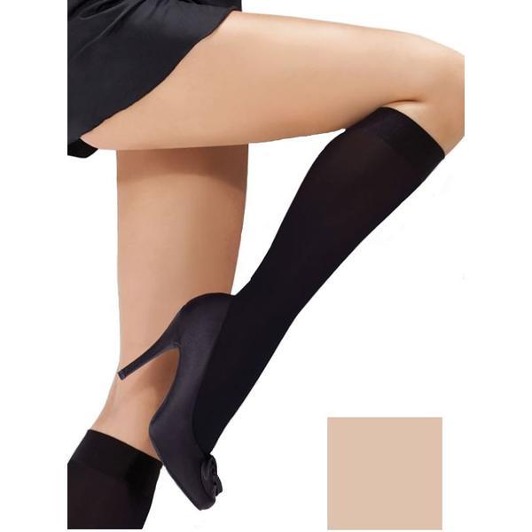 Sosete pana la genunchi Jurinex Zoja 40 Den Lycra Opac, culoare vision, marime universala