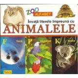 Invata literele impreuna cu animalele, editura Teora
