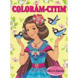 Coloram-citim: Alba ca Zapada, editura Biblion