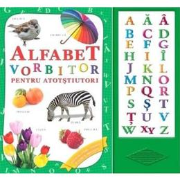 Alfabet vorbitor pentru atotstiutori, editura Biblion