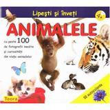 Lipeste si inveri - Animalele 4+, editura Teora
