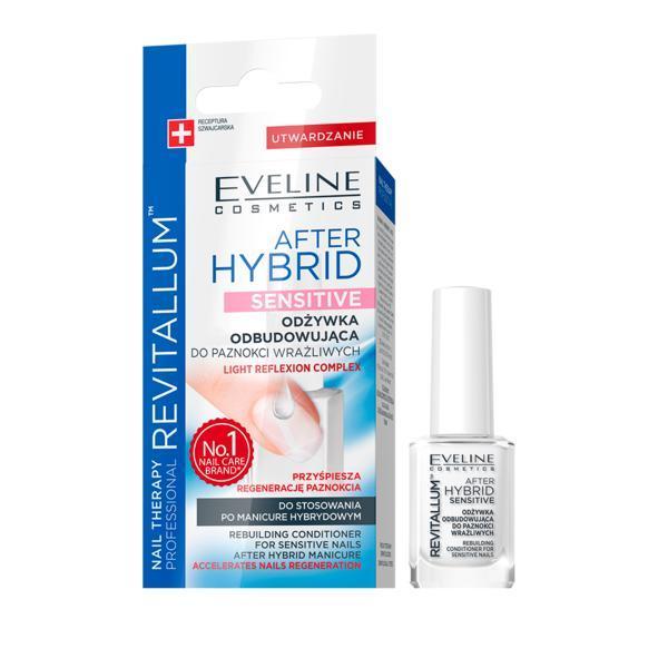 Tratament unghii Eveline Cosmetics After Hibrid Sensitive 12 ml imagine produs