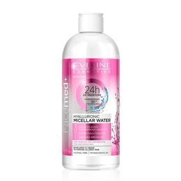 Apa micelara Eveline Cosmetics Facemed+ 3 in 1 Hyaluronic 400 ml de la esteto.ro