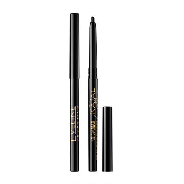 Creion de ochi Kajal Eveline Cosmetics MegaMax 10g - nuanta black poza